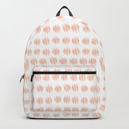 ICAN make dots pink and white Backpack