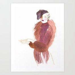 Gloves Art Print
