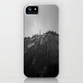 Black Butte iPhone Case