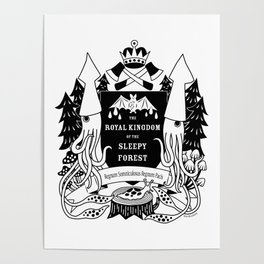 The Royal Kingdom of the Sleepy Forest Poster