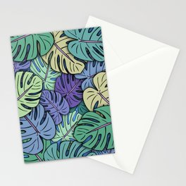 Monstera Leaves #6 Stationery Cards