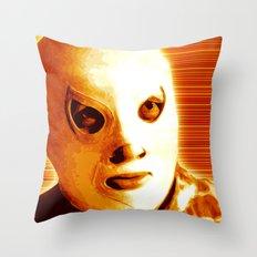 La Lucha - Orange Edition Throw Pillow