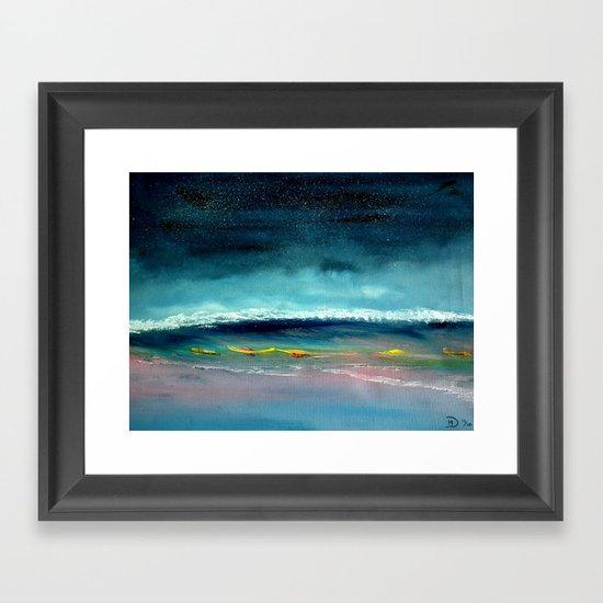 High Tide Framed Art Print