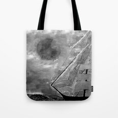 The Fate of Sir Charles Vane: Mutiny and the Cursed Lands Tote Bag
