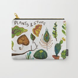 Plants and stuff Carry-All Pouch