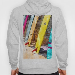 Collecting Surf Boards - For Surfers Hoody