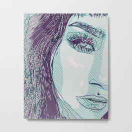 Tiffany Metal Print