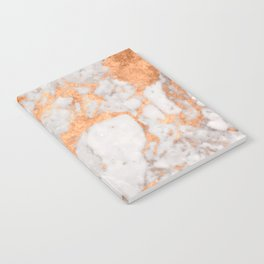 Copper Marble Notebook