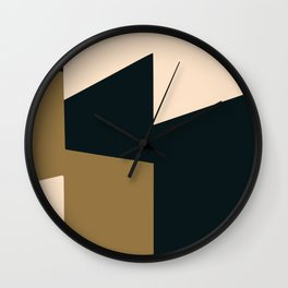High contrast abstract Wall Clock