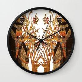 Egyptian Goddesses Wall Clock