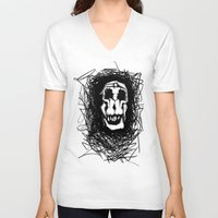dali V-neck T-shirts featuring Dali by @Subliminal_society