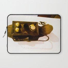 Antique phone. Laptop Sleeve