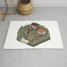 Squared Landscape III Rug