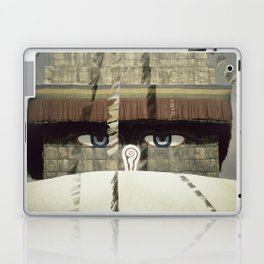 Bodnath Stupa Laptop & iPad Skin