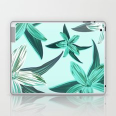 Quote - Work hard Stay Humble - Flower Laptop & iPad Skin