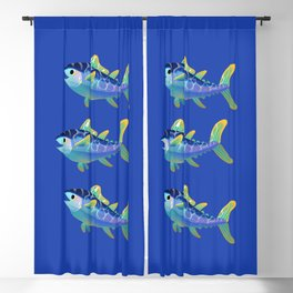 Atlantic Bluefin Tuna Blackout Curtain