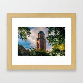 Cranbrook Tower Framed Art Print