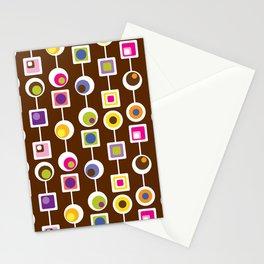 Mod Love Chocolate II Stationery Cards
