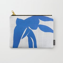 Henri Matisse, Bleu Freedom, Nude (Blue Freedom, Nude) lithograph modernism portrait painting Carry-All Pouch