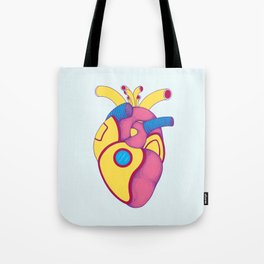 Yellow Submarine Heart Tote Bag