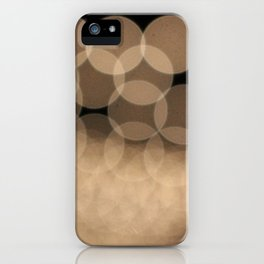 Unfocused Lights iPhone Case