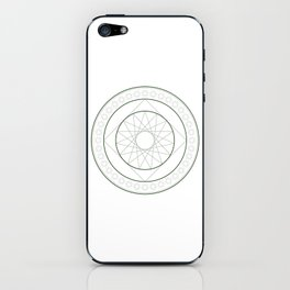 Anime Magic Circle 4 iPhone Skin