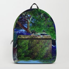 Shade Above The Pool Backpack