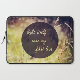 My First Love Laptop Sleeve