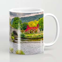 Llanrwst Bridge Autumn Coffee Mug