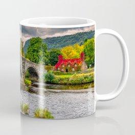 Llanrwst Bridge Autumn Coffee Mug