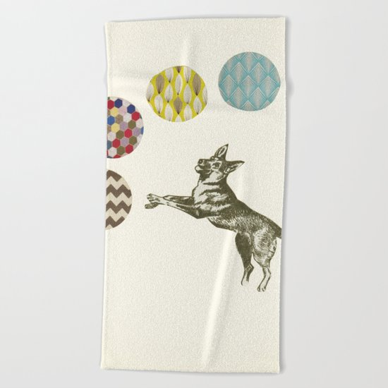 Ball Games Beach Towel