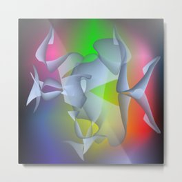 Brainwave Metal Print