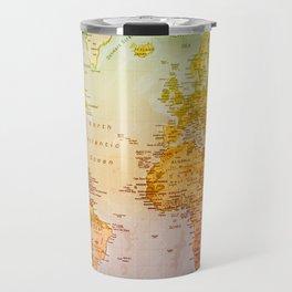 Colorful World Travel Mug