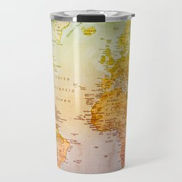 Colorful World Travel Mug