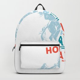 Horses are amazing creatures Backpack