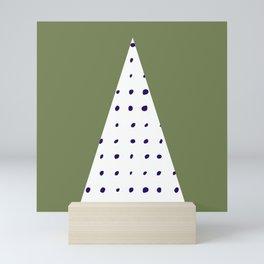 Scandinavian style minimalist triangle design Mini Art Print