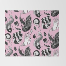 Pink Magic Throw Blanket