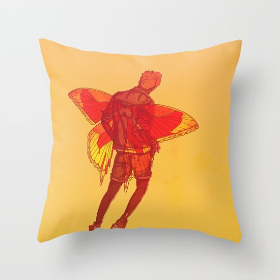 You Should Treat Your Muse Like A Fairy Throw Pillow