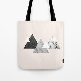Marble mountains Tote Bag