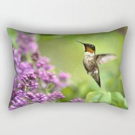 Hummingbirds Welcome Rectangular Pillow