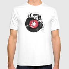 CHANGES Mens Fitted Tee MEDIUM White
