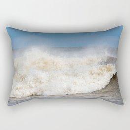 Stormy Ocean waves seascape Rectangular Pillow