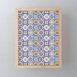 Talavera Ceramics Framed Mini Art Print