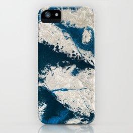 Winter on Krypton iPhone Case
