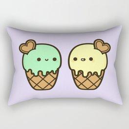 Ice cream love Rectangular Pillow