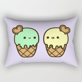 Ice cream love Rectangular Pillow