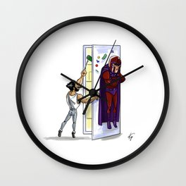 RefrigeratorMagneto Wall Clock