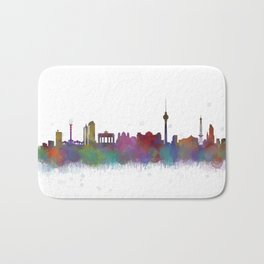 Berlin City Skyline HQ4 Bath Mat