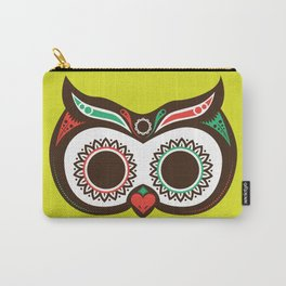Day 0f the Dead Owl Carry-All Pouch