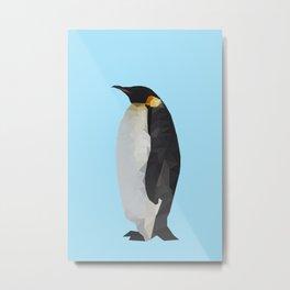 penguin. Metal Print
